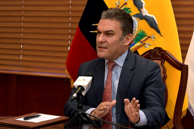 ECUADOR - BRAZIL - CORRUPTION - GLAS - SERRANO
