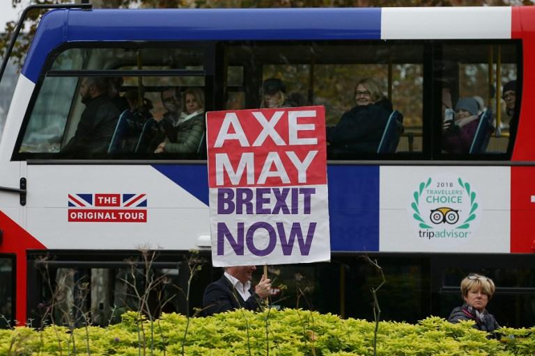 BRITAIN - POLITICS - EU - BREXIT